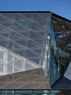 The Culture Yard in Elsinore, Denmark by AART Architects Facade Architecture, Contemporary Architecture, Metal Mesh, Interior Walls, Denmark, Close Up, Skyscraper, Multi Story Building, Yard