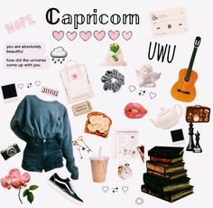 Discover recipes, home ideas, style inspiration and other ideas to try. Capricorn Season, Zodiac Signs Capricorn, Aesthetic Memes, Aesthetic Clothes, Zodiac Clothes, Capricorn Aesthetic, Zodiac Sign Fashion, Teen Trends, Just Girl Things