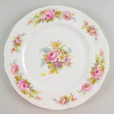 Royal Albert Chatsworth-Pink Dinner Plate