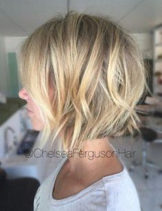 50 Best Short Bob Hairstyles and Hairstyles for Women - Frisuren - Cheveux Haircuts For Fine Hair, Short Bob Haircuts, Cool Haircuts, Blonde Bob Hairstyles, Medium Hairstyles, Trendy Hairstyles, Choppy Bob Hairstyles Messy Lob, Short Hairstyles For Thin Hair, Braided Hairstyles