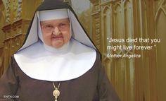 #Lent2015 #Fridayfact #MotherAngelica #EWTN