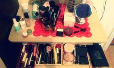 Makeup haul organization
