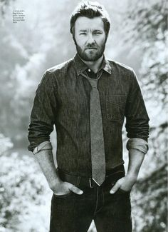 "Joel Edgerton - ""I want to love someone that I actually like.""  (if I messed up a pronoun in there, sue me, it's the internet. :p  Regardless, good quote, and surprisingly - important to remember)"