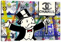 Chanel Wall Art, Canvas Prints & Paintings   iCanvas Canvas Artwork, Canvas Art Prints, Canvas Frame, Framed Prints, Drug Design, Chanel Canvas, Wrapped Canvas, Graphic Art, Wall Art