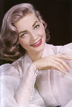Lauren Bacall - she could wear anything