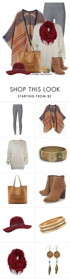 """Oversized Sweater and Leggings"" by honkytonkdancer ❤ liked on Polyvore featuring ATM by Anthony Thomas Melillo, Max&Co., BillyTheTree, Sole Society, Nine West, San Diego Hat Co., Ross-Simons, BP. and American Coin Treasures"