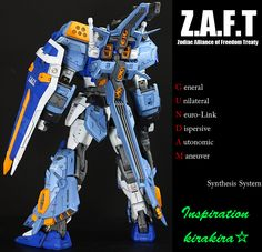 MG 1/100 GAT-X102 Duel Gundam Assaultshroud   Modeled by Inspriation        CLICK HERE TO VIEW FULL POST...