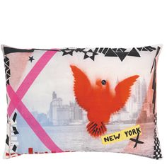 #Designersguild and #dreambedroom - Christian Lacroix New York Eagle Mulitcolore - Digitally Printed Cotton Sateen Cushion