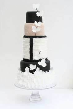 Chanel wedding cake