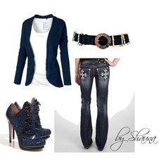 simple chic, created by shauna-rogers on Polyvore