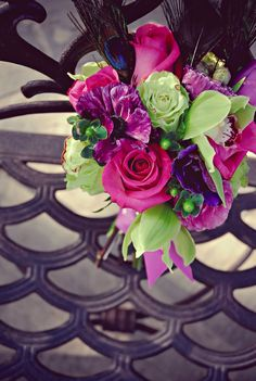 Wedding-flowers-purple-pink-statement-bridal-bouquet.full
