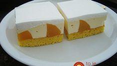 Voćni kolač s breskvama - mmmm veoma ukusan! Vanilla Cake, Cheesecake, Sweets, Chocolate, Baking, Food, Cakes, Basket, Cake