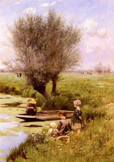 Emile Claus, Afternoon Along the River