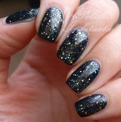 OPI Incognito in Sausalito layered with Shimmer Polish Candace -Polish Infatuated