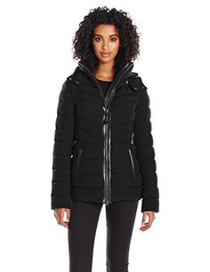 Mackage Womens Patti Lightweight Down Jacket Black XS >>> For more information, visit image link.