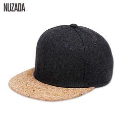 4d59aeae2a6 Brands NUZADA 2017 Autumn 65% Wool Cork Fashion Simple Men Women Hat Hats  Baseball Cap