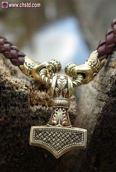 Quality all the way! Amazed how good it is in real life! Here you can buy Thors hammer or Mjolnir Viking jewelry related to Norse mythology. Mjolnir Design by C.H.Studio