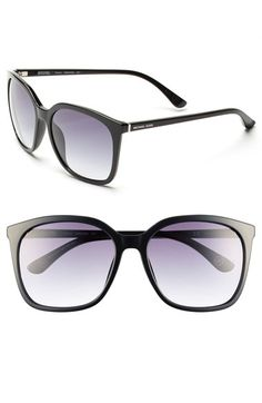 Free shipping and returns on MICHAEL Michael Kors 59mm Sunglasses at Nordstrom.com. Full-coverage gradient-lens sunglasses add a dash of old-school glamour to your look, while logo inlays at the temples provide a signature finish.