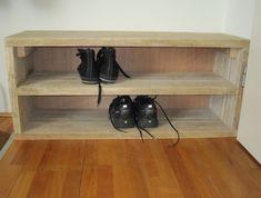 Steigerhouten schoenenkastje | schoenenkastje op maat | de Steigeraar