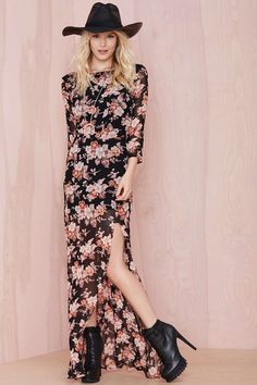For Love and Lemons Autumn Dress | Shop For Love and Lemons at Nasty Gal
