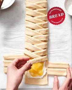 Lemon Desserts, Lemon Recipes, Just Desserts, Baking Recipes, Bread Recipes, Brunch Recipes, Dessert Recipes, Lemon Bread, Sweet Dough