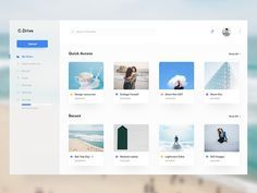 Fluent design drive designed by Kalesh. Connect with them on Dribbble; the global community for designers and creative professionals. Dashboard Design, App Ui Design, User Interface Design, Dashboard Ui, Site Design, Fluent Design, Ui Design Inspiration, Ui Web, Design System