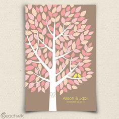 Wishwik Multi Wedding Tree Guest Book Alternative - Wedding Wish Tree - By Peachwik