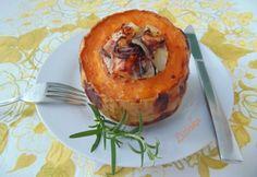 Csirkemellraguval töltött sütőtök Cantaloupe, Muffin, Keto, Fruit, Breakfast, Food, Breakfast Cafe, Muffins, Essen