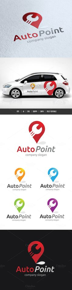 Auto Point by Super Pig Shop on Creative Market