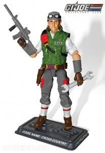 HEAVY ORDINANCE BAGGED CROSS COUNTRY G.I.JOE EXCLUSIVE COLLECTOR/'S CLUB