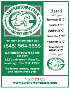 Gardner town Farm Horse Show