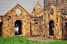 Repurposed Pallet Made Dog House: And this thought could be materialized by repurposing the wood pallet, and right here we have got a nice demonstration of this Wooden Projects, Pallet Projects, Pallet Ideas, Stain Techniques, 1001 Pallets, Pallet Wood, Pet Accessories, Pallet Furniture, Repurposing