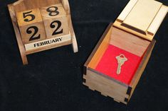 Secret Lock Box II & Calendar Escape Room Synergy Set