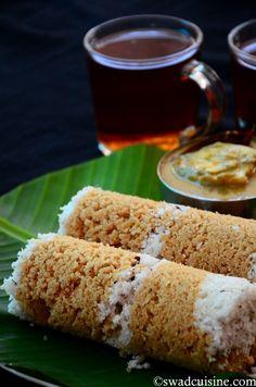 Kerala Wheat Puttu Recipe