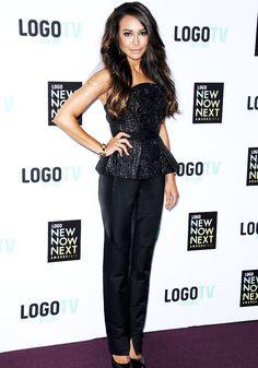 Naya Rivera @ the NewNowNext Awards 2013