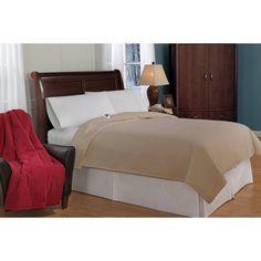 Soft Heat Micro Fleece Electric Warming Blanket Beige - 272-103-01-11-036-01