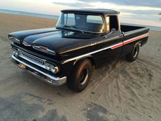 1961 Chevrolet Apache Fleetside for sale Hemmings Motor News 1966 Chevy Truck, Vintage Chevy Trucks, Chevy Pickup Trucks, Chevy Pickups, Chevrolet Trucks, Gmc Trucks, Cool Trucks, Chevy 4x4, 1957 Chevrolet