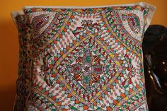Gorgeous MadhuBani Pillows perfect for home by sensitivecreations, $15.00