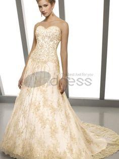 Abiti da Sposa Colorati-Economici senza spalline di perline in vita abiti da sposa colorati