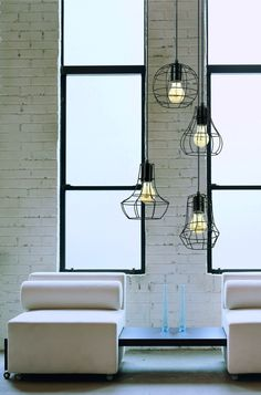 Outline pendant lamp from Britop Lighting
