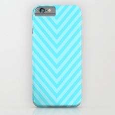 Chevron_Lt. Blue Slim Case iPhone 6s
