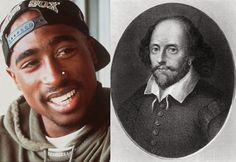 Who Said It: Tupac Or Shakespeare? Tupac, who celebrates his birthday today, used to say his writing was influenced by the famous works of Shakespeare. Can you guess which writer said what? Gcse English, English Language Arts, English Activities, Teaching Activities, Teaching Ideas, Shakespeare Birthday, Middle School Ela, High School, Middle Ages