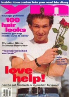 YM Magazine...another fun read as a teen (and as a side note -- I had a MASSIVE crush on Christian Slater as a teen!!!)