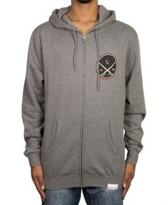 Diamond Supply Co. - Victory Swords Zip-Up Hoodie - $82