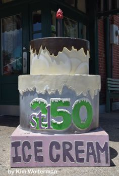 Cakeway to the West - Crown Candy Kitchen view 1 #cakewaytothewest #stl250