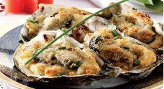 Ostriche al gratin, antipasto a base di pesce molto semplice e veloce da realizzare.