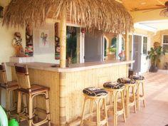 tiki outdoor decorating ideas | tiki bar in northern california - Patios & Deck Designs - Decorating ...