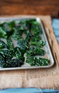 Salt  Vinegar Kale Chips.... I love kale chips!!!