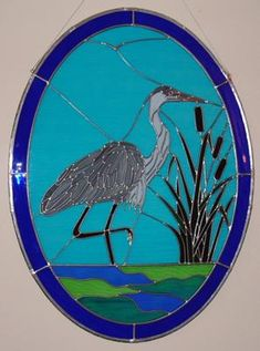 Stained Glass  http://www.freepatternsforstainedglass.com/great-blue-heron.html