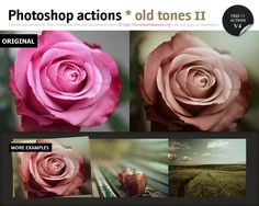 Photoshop old tones actions II by *lieveheersbeestje on deviantART